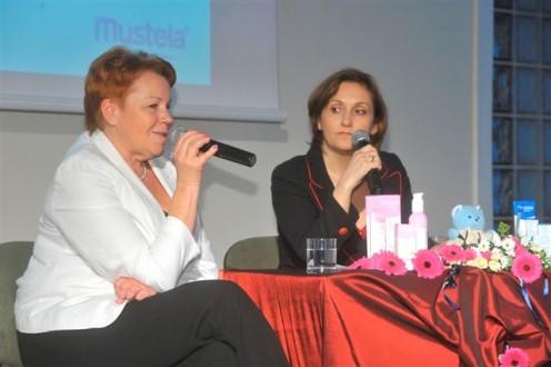 Ewa Żeromska(pedagog) i Beata Cywińska-Durczak(Dyrektor Generalny Laboratories Expanscience Polska)